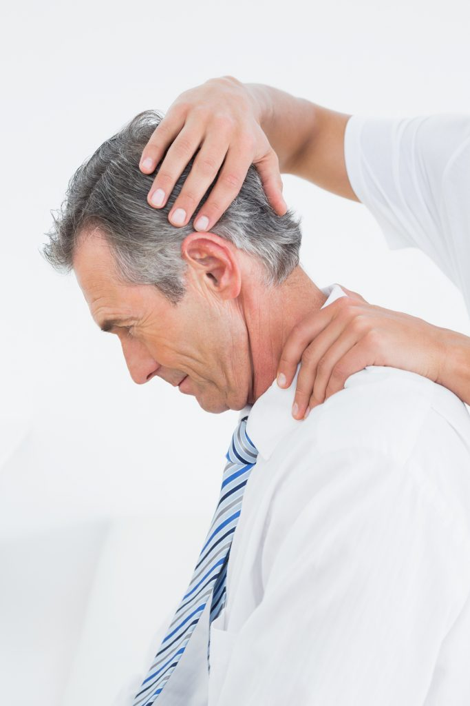 Neck can be managed with chiropractic treatment