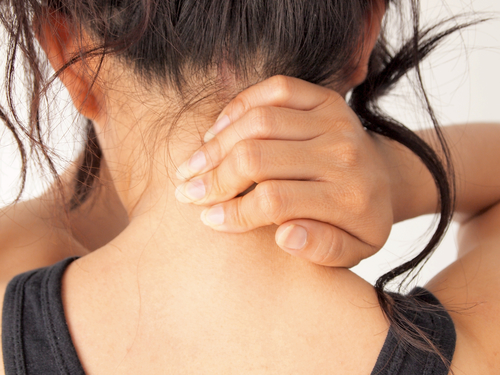 Neck Pain can be treated with chiropractic care.