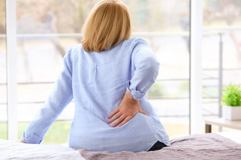 Lower back pain in the morning